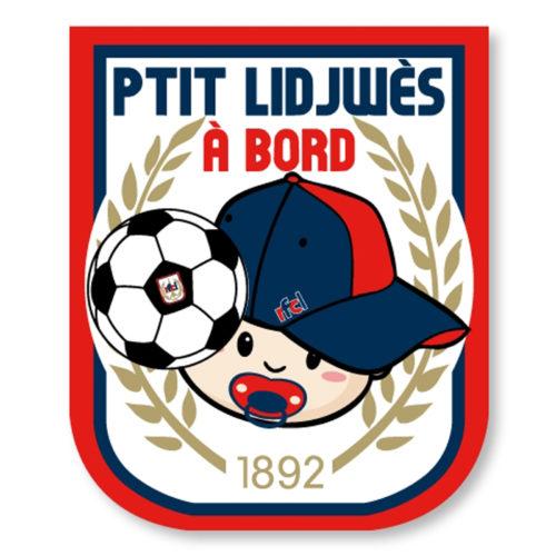 "Sticker ""PTIT LIDJWES A BORD"""