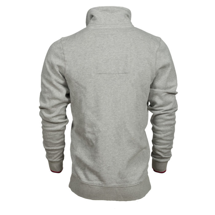 Sweatshirt full-zip col montant Liège