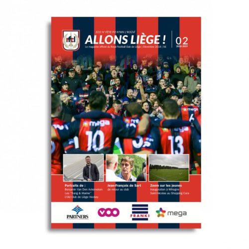 Allons Liège ! #2 - saison 2018-2019 - dec 2018