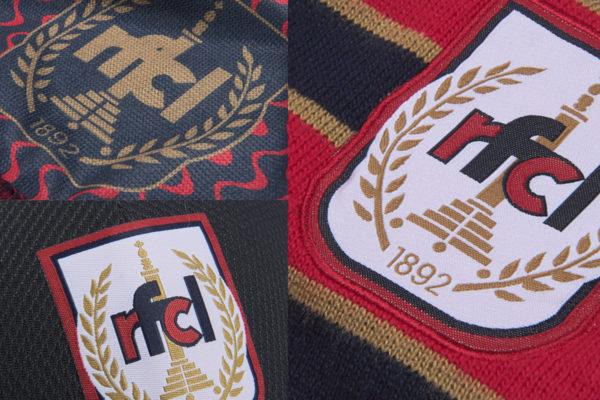 Nouveaux accessoires RFC Liège