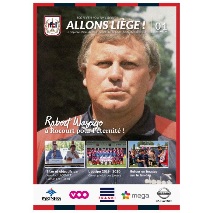 Allons Liège ! #1 - saison 2019-2020 - Septembre 2019