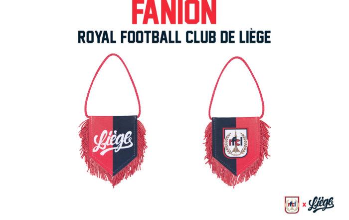 Nouveau Fanion RFC Liège